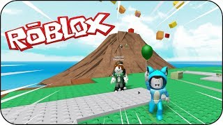 WOULD YOU SURVIVE A GIANT VOLTOR IN ERUPTION? ⚡ BE BE BE BE BE BE AND VITA ROBLOX NATURAL DISASTER SURVIVAL