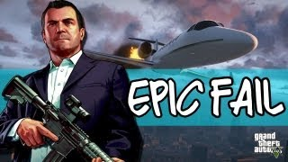 And We're O...Oh No: GTAV Epic Fail Moment
