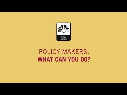 #AntiMicrobialResistance Policy Makers, what can you do?