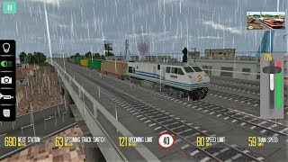 Indonesian Train Simulator Monsoon Adventure level 1-3 Android Gameplay For Kids