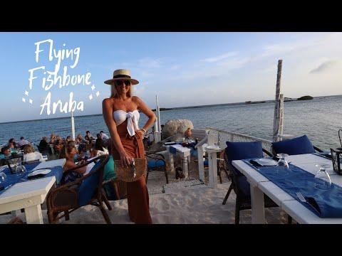 BEST RESTAURANT IN ARUBA?!   FLYING FISHBONE   ARUBA 2019