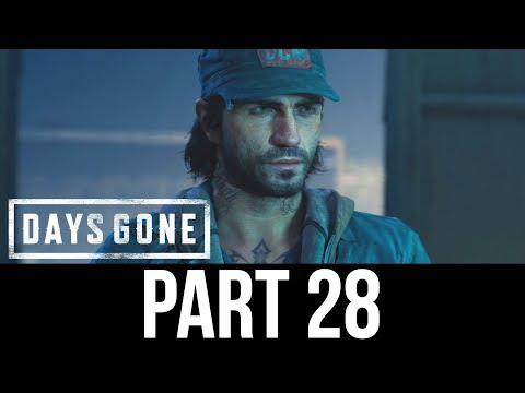 DAYS GONE Part 28 Gameplay Walkthrough - WIZARD LAKE (Full Game)