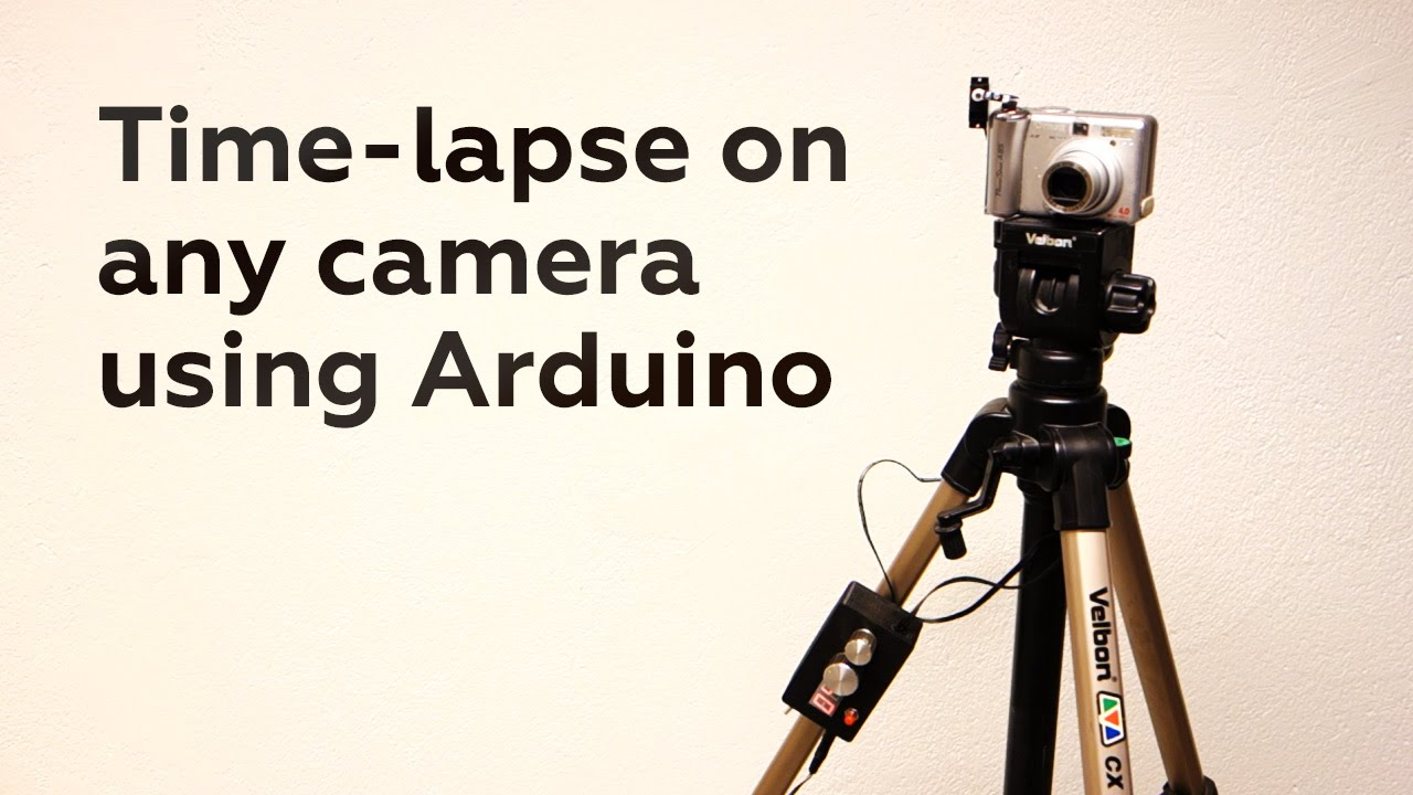 Time lapse on any camera using arduino youtube