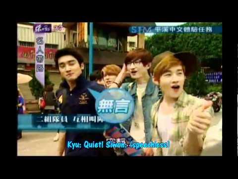 [ENG] 110925 Super Junior M - Words for opposite team @ Celebrity Tour Guides