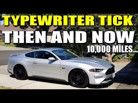 2018 MUSTANG GT TYPEWRITER TICK THAN AND NOW - 1 YEAR/10,000 MILE OVERVIEW