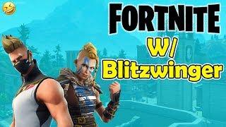 FORTNITE - W/ Blitzwinger - CAN WE GET 3 WINS AGAIN?!