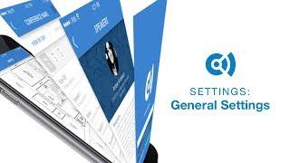 Convene Dashboard General Settings