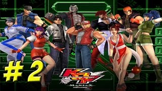 The King of Fighters: Maximum Impact! XBOX Part 2 - YoVideogames