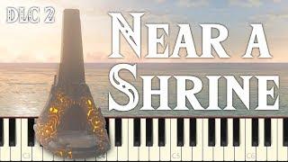 Near a Shrine - Breath of the Wild [4K] (Synthesia Piano Tutorial)