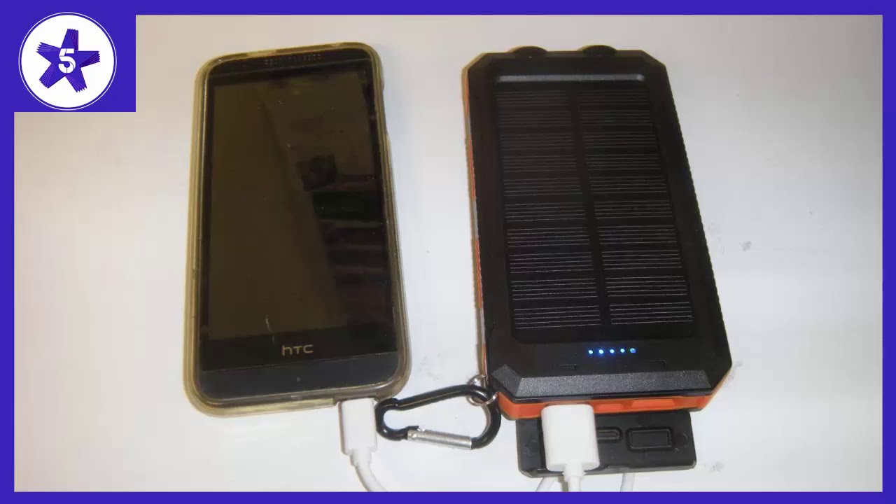 Ayyie Solar Charger, 10000mAh Solar Power Bank Portable Review