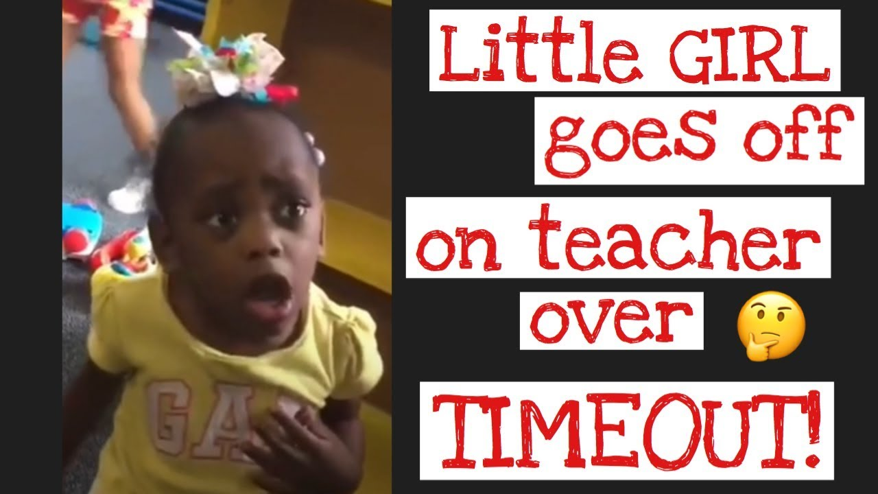 Little Girl Goes Off On Preschool Teacher Who Wanted To Put Her In