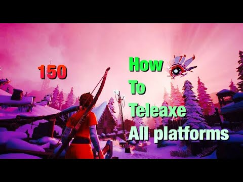 The darwin project how to teleaxe/teleport axe /xb1 ps4 pc