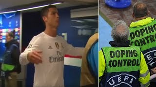 Cristiano Ronaldo's angry reaction to being drug tested - Oh My Goal