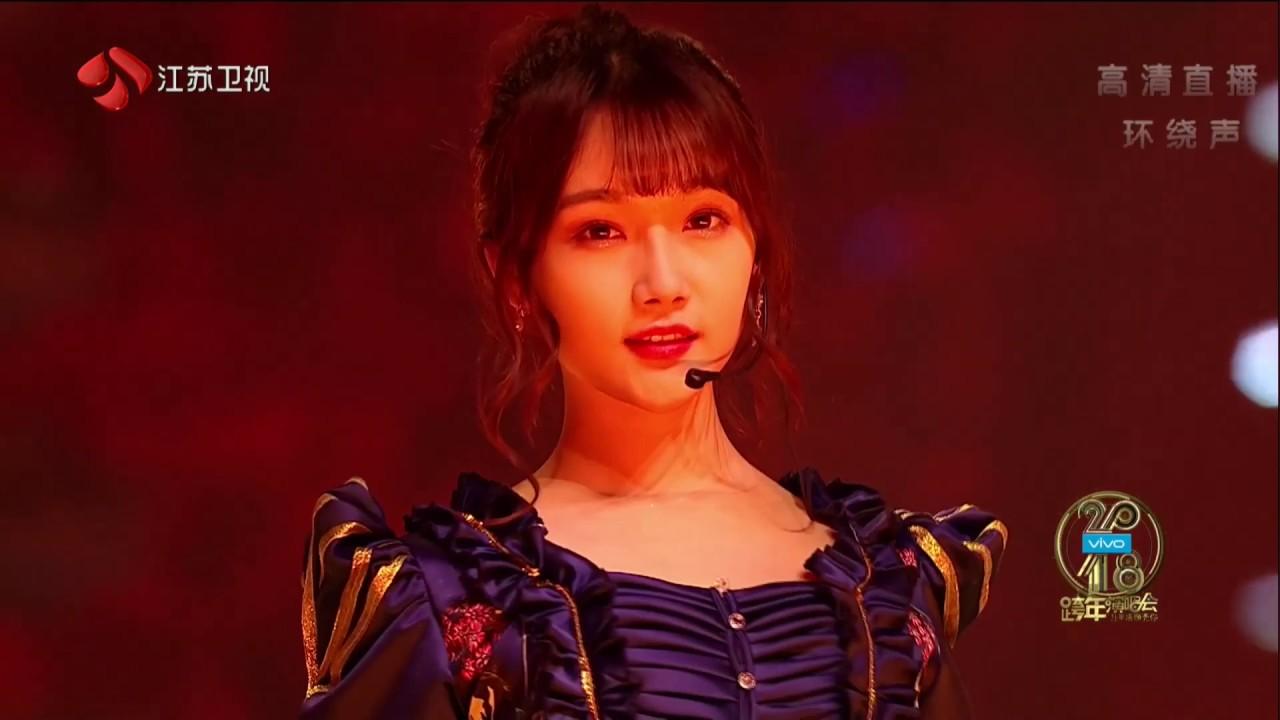 2018江蘇衛視跨年演唱會 SNH48 《那不勒斯的黎明》 - YouTube
