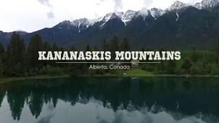 Drone Video of the Canadian Rockies of Alberta - Kananaskis Mountains