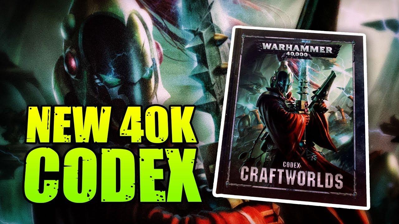 Warhammer 40k Eldar Craftworlds Codex