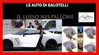 LE AUTO DI MARIO BALOTELLI - LE AUTO DI BALOTELLI