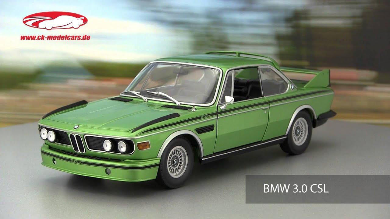 ck-modelcars-video: BMW 3 0 CSL 1975 Minichamps - YouTube