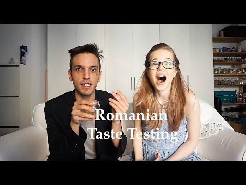 Romanian Food Taste Test with Matteo Fumagalli | Carina Vardie