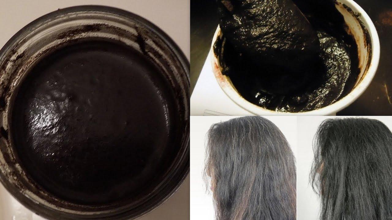White Hair To Black Hair Permanently Natural Hair Dye Get Long