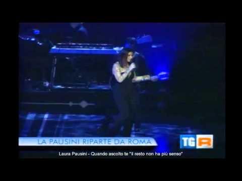 Laura Pausini - TgR Lazio del 9 Dicembre 2013