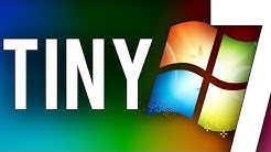 Tiny7 - A minaturized edition of Windows 7 (Overview & Demo)