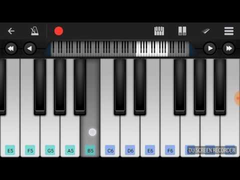 Ranadheer  kannada movie flute music on mobile piano