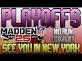 Madden 25 MUT | Ultimate Team Playoffs | RG3 Who? | Jerome, Best #NoUsers!
