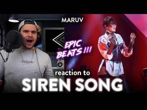 MARUV Reaction Siren Song LIVE EUROVISION (EPIC!!!) | Dereck Reacts
