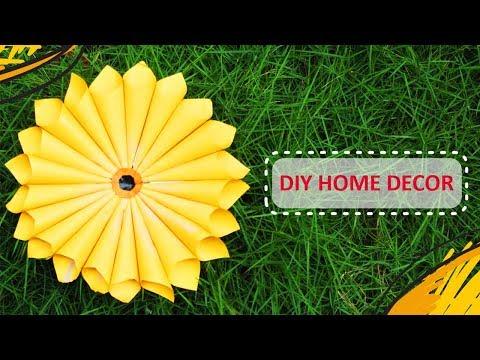 DIY Home Decor Idea | Simple Paper Flower