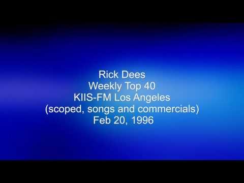 Rick Dees Weekly Top 40 on KIIS-FM Feb 20, 1996
