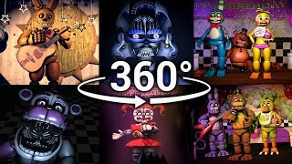 360 Best FNAF 360 Show Compilation Five Nights At Freddy S SFM VR Compatible Part 1