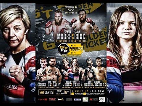 GTFP – Golden Ticket Fight Night 6 - Ronan Manning  Vs  Paul McGuinness