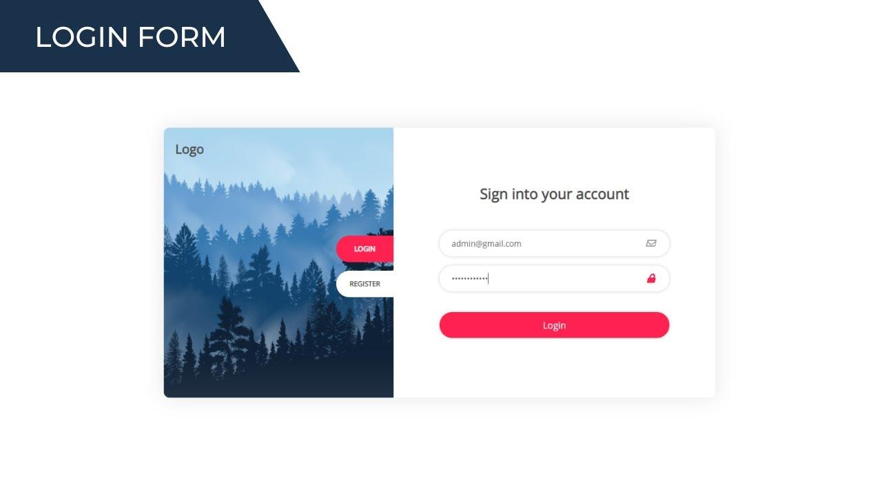 Login Form - MERN Stack