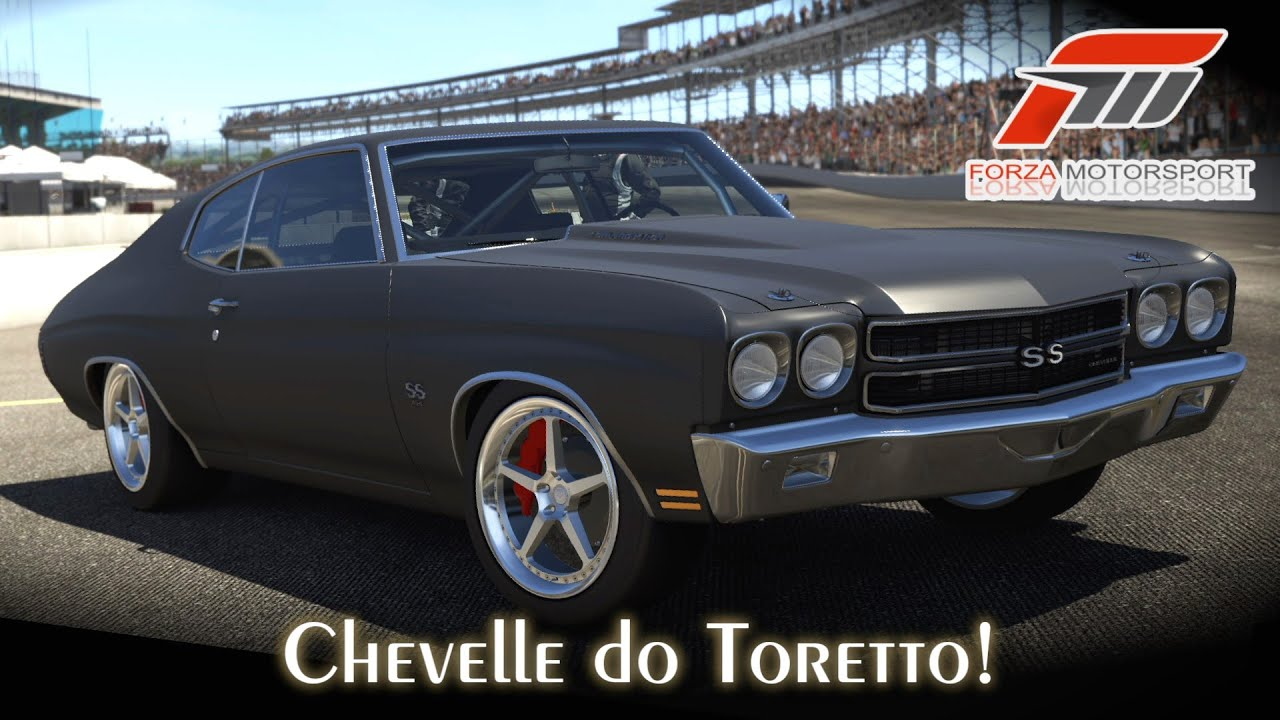 Chevelle Ss >> Tunando o Chevelle SS! - Carro do Toretto! | Forza Motorsport 5 [PT-BR] - YouTube