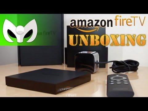 UNBOXING AMAZON FIRE TV (Gaming Console) PRIMERAS IMPRESIONES