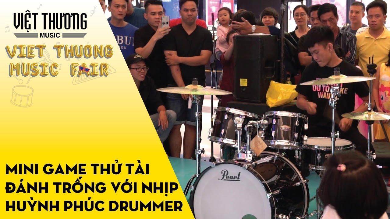 Mini game thử tài đánh trống với nhịp – Huỳnh Phúc Drummer