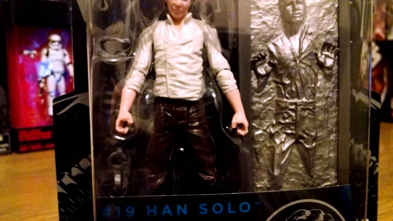 BLACK SERIES HAN SOLO AND CARBONITE BLOCK REVIEW