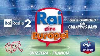 Svizzera - Francia. Rai dire Europei EURO 2016 Radiocronaca Gialappa's band 19 Giugno 2016