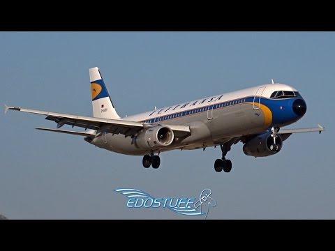 Lufthansa Retro Colors Airbus A321 D-AIDV - Landing At Split Airport LDSP/SPU