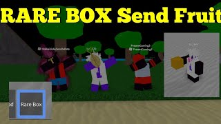 RARE BOX Send Fruit-One Piece Legendary-Roblox