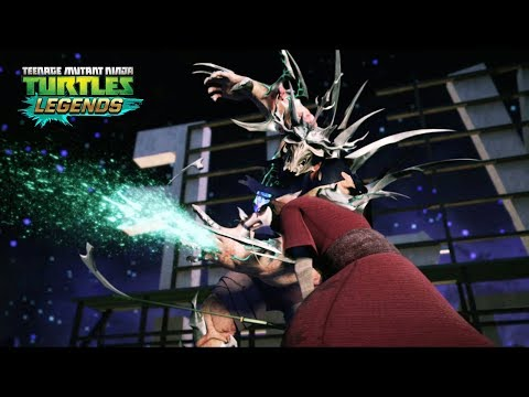 Final Battle: Splinter VS Super Shredder  Teenage Mutant Ninja Turtles Legends