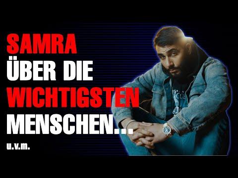 SAMRA über seine große Liebe, Rohdiamant und Depressionen [feat. Kontra K, Bozza u.v.m.]