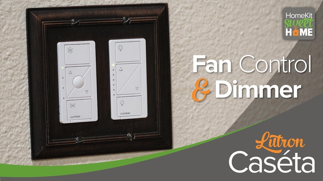 Lutron Caseta Fan Control & Dimmer Switch for HomeKit