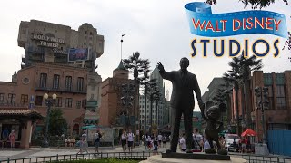 Walt Disney Studios Park (Disneyland Paris) 2019 Tour & Review with The Legend