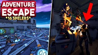 ADVENTURE ESCAPE *MET 16 SPELERS* - Fortnite Creative (Nederlands)