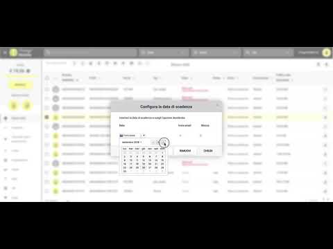 Things Mobile - Configurazione Della Data Di Scadenza Di Una SIM
