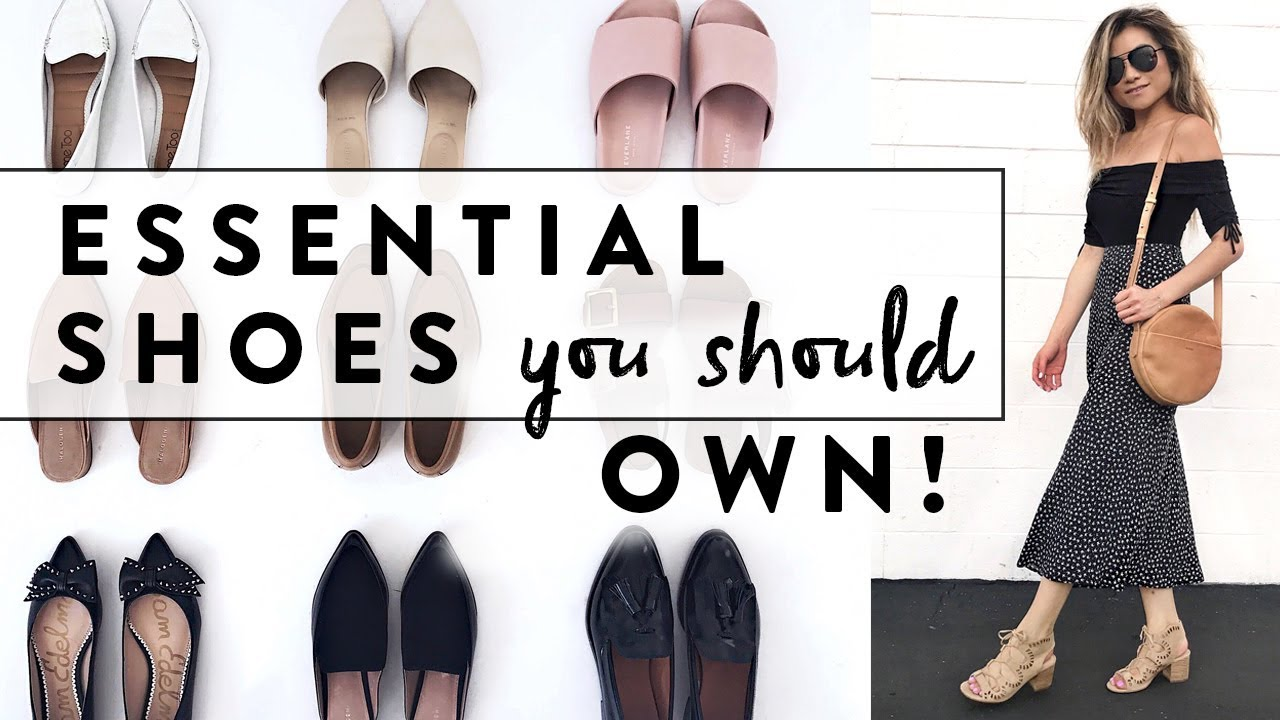 8fa216283b8d 6 Essential Shoes Every Woman Should Own | Minimalist Wardrobe Basics Shoe  Guide | Miss Louie