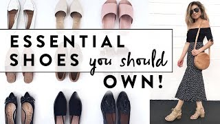 6 Essential Shoes Every Woman Should Own | Minimalist Wardrobe Basics Shoe Guide | Miss Louie