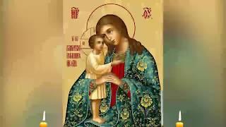 Молитва Божией Матери от болезни